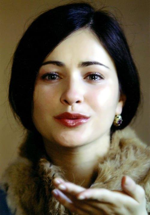 Lyuba Tikhomirova Russian theater actress