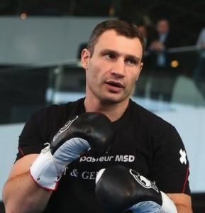 Vitaliy Klitschko professional boxer