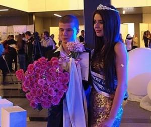 Abdrazakova and her boyfriend