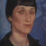 Brilliant Akhmatova in 1922. portrait by Kuzma Petrov-Vodkin