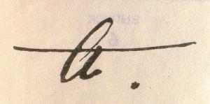Akhmatova's signature