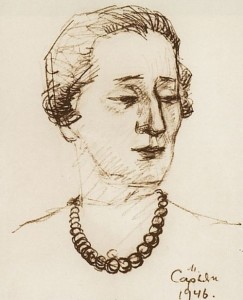 Great A. Akhmatova, 1946