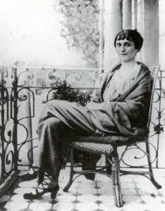 Charming Anna Akhmatova