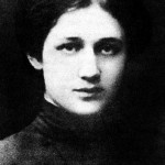 Anna Akhmatova in her youth