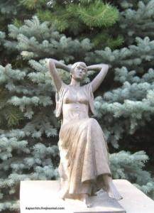 Known Anna Akhmatova memorial
