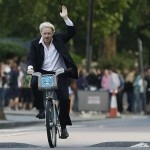 Mayor of London likes to ride a bike
