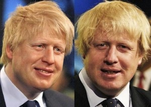 Boris and his wax figure