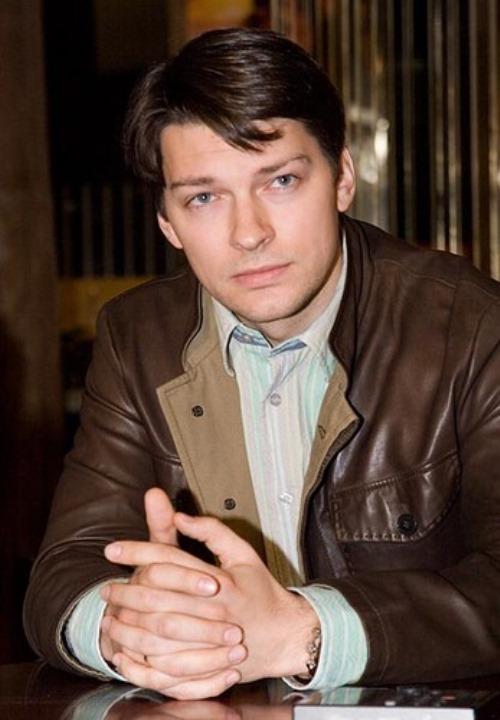 Handsome Russian actor Daniil Strakhov