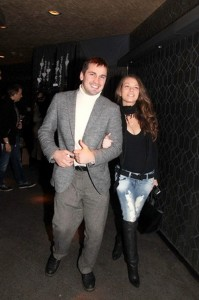 Nosov and his wife