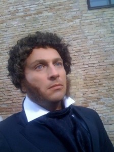 Nagiev as Pushkin