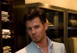 Handsome designer Dmitry Loginov
