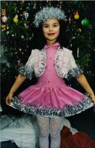 Elmira in her childhood