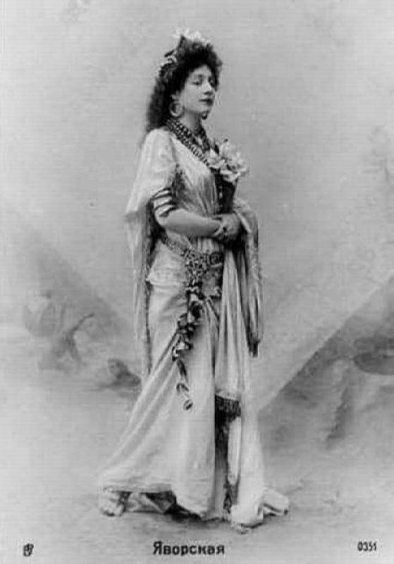 Lydia Yavorskaya, Theater Star