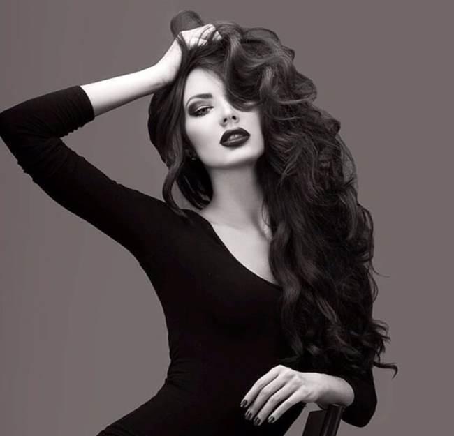 Yulia Adasheva, beautiful model