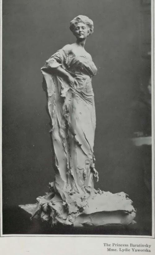 Lydia. Sculpture by Troubetzkoy
