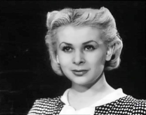 Valentina Serova Soviet actress