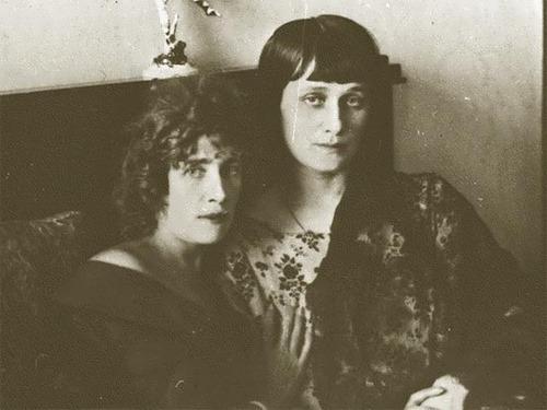 Anna Akhmatova and Olga Glebova-Sudeikina