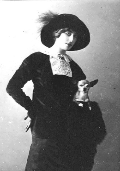 Olga Glebova Sudeikina, decadence fairy