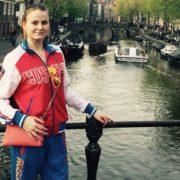 Alexandra Patskevich, synchronized swimmer