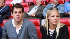 Daria Klishina and Malkin