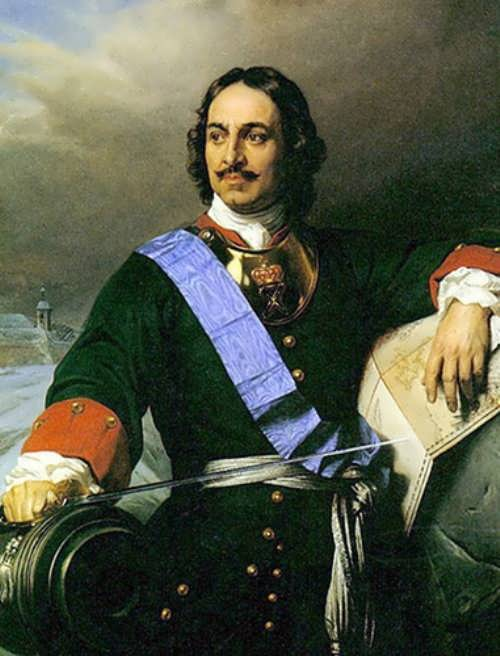 Peter The Great Russian Tsar
