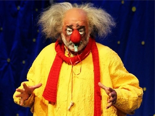 Slava Polunin great clown