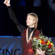 Evgeni Plushenko, prominent Russian figure skater
