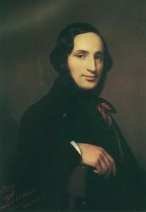Alexei Tyranov - portrait of the artist I.K. Aivazovsky