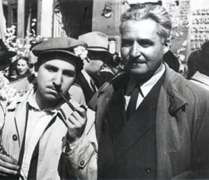 Alexei and Konstantin Simonov