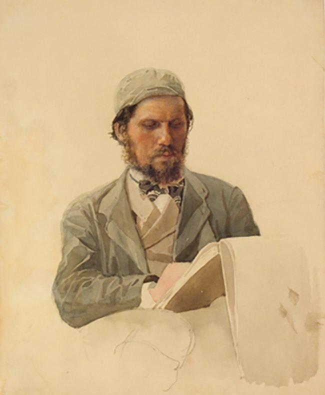 Ivan Kramskoi, talented portraitist