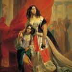 bryullov Countess Yu. P. Samoilova Amazilia Paccini