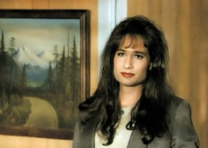 Duchovny dressed like a woman