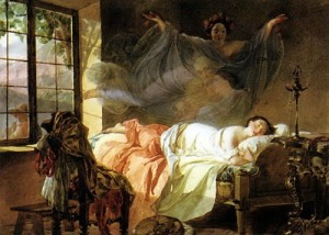 bryullov Dream of a young girl