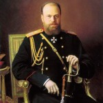Portrait of Alexander III. 1886