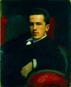 Portrait of Anatoly Kramskoi, the artist's son. 1882