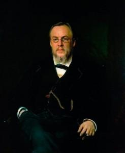 Portrait of Dr. Sergei Petrovich Botkin. 1880