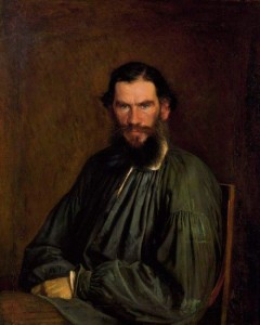 Portrait of Leo Tolstoy. 1873