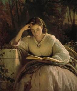 Portrait of Sofia Nikolaevna Kramskaya, the artist's wife. 1866-1869