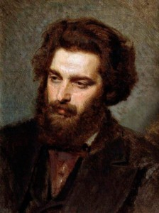 Portrait of the Artist Arkhip Kuindzhi. 1872