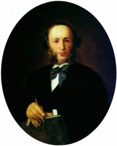 Portrait of the artist Ivan Aivazovsky