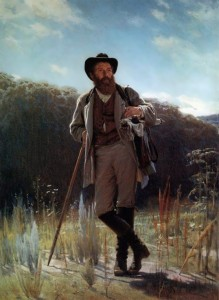 Portrait of the artist Ivan Shishkin. 1873