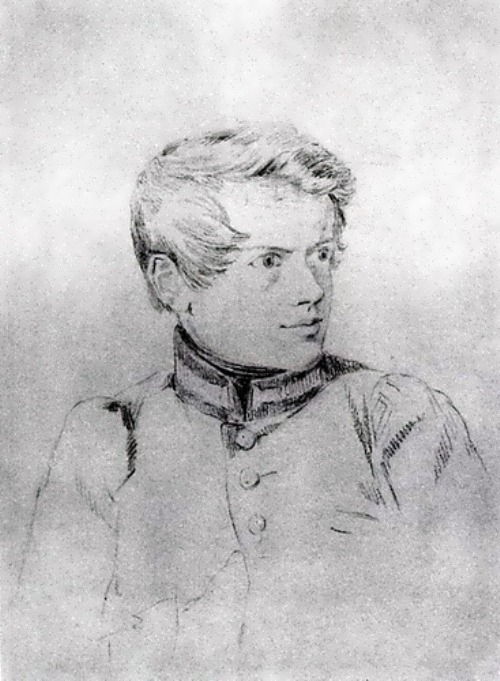 bryullov Self-Portrait. 1813-1816