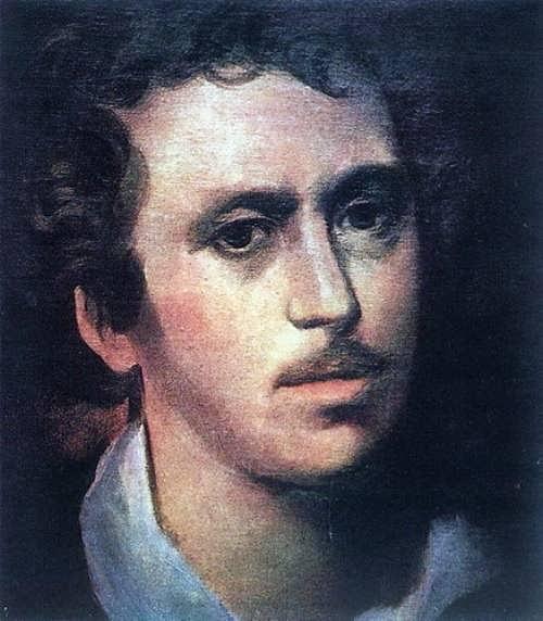 bryullov Self-Portrait. 1823