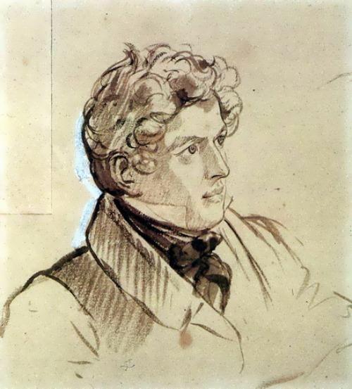 bryullov Self-Portrait. 1830-1833