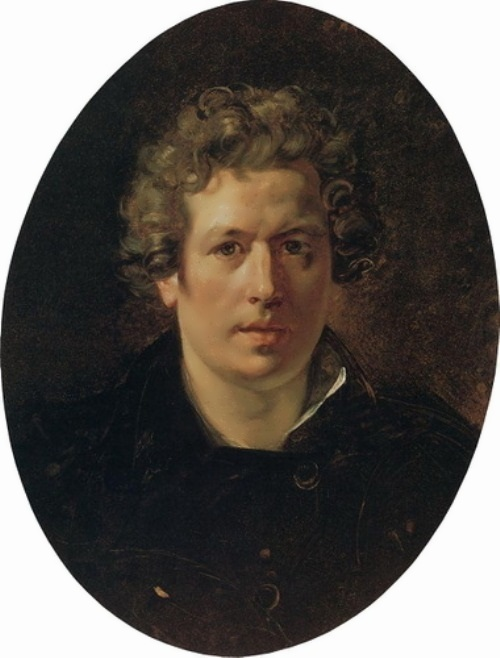 bryullov Self-Portrait. 1833