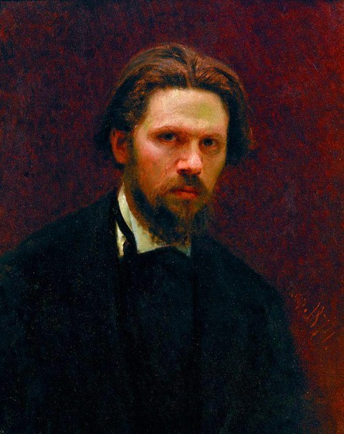 kramskoi Self-Portrait. 1874