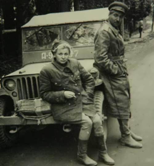 Valentina Serova and Konstantin Simonov