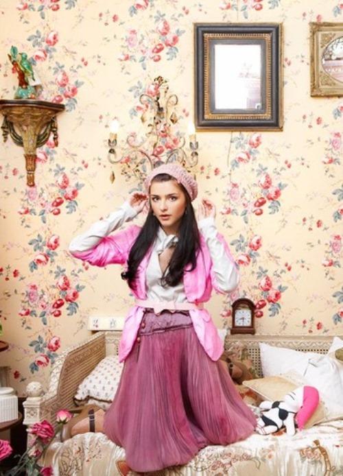 Charming Anastasia Sivaeva