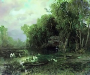Abandoned Mill. Fyodor Vasiliev
