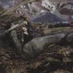 vrubel Demon Prostrated, 1902